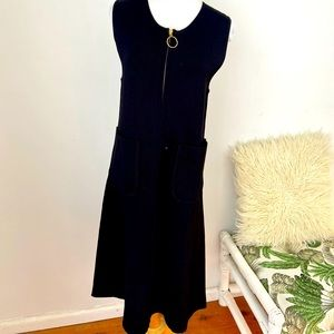 Country Road Size S Black A-Line Midi Dress